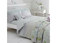 Hidcote single duvet cover bed sets x 2 only 3 months old