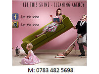 We clean with passion! Domestic and Office cleaning services