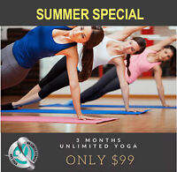 SIZZLING SUMMER YOGA SPECIAL