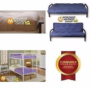 Great PRICE and Great SELECTION of Futons and Bunk Beds In Moncton