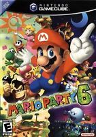 Mario Party 6 in original case,Instruction manual and game Mic.