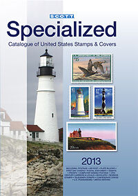Scott Stamp Catalog 2013 US Specialized of US Stamps and Covers UNUSED
