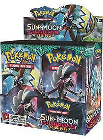 Sun And Moon Guardians Rising booster box-Pokemon cards - Sealed Malvern Stonnington Area Preview