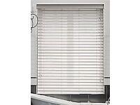 2 X Brand new still boxed white wood blinds2go Venetian blind