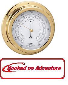 Barometer Polished Brass