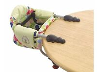 Chicco Clamp On Portable Table Seat High Chair for Baby