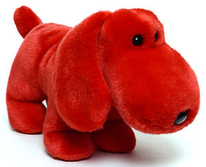 Rover the red dog Ty Beanie Buddy stuffed animal