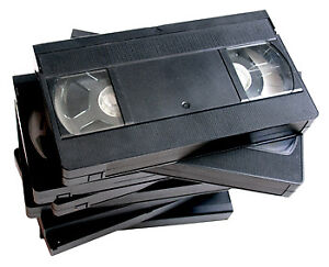 Media Transfer & Recovery Service - VHS, DVD, Beta & more!