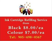 Ink refill refill from BLK/8.00ea COL/7.00ea