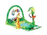 Fisher price Safari Baby play mat gym for girl or boy