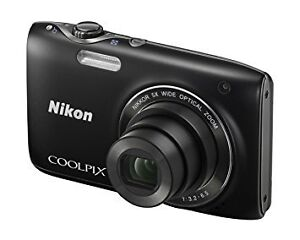 NIKON COOLPIX S3100 BLACK FOR SALE * COMPLETELY NEW *
