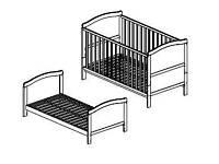 Cot bed/kids bed