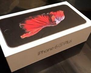 *!!* iPhone **6s +PLUS--64GB *UNLOCKED *MINT *BLK / GRAY *WRNTY!