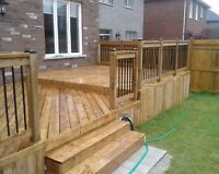 Beautiful decks and fences that fit your budget