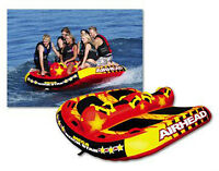 Inflatable,towable 1-6 person Airhead Mega Rockstar