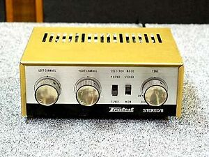 Trutest Stereo/8 Amplifier PX-728