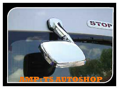 For Toyota Hiace Commuter 2005 2013 Chrome Tail Rear View Mirror