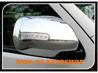 For Toyota Hiace Commuter 2011 2013 Chrome Side Mirror With Led Cover