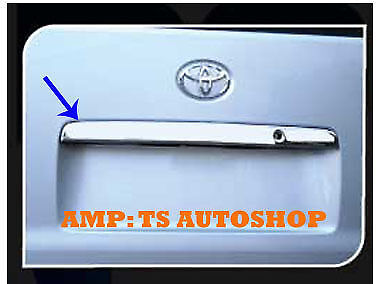 For Toyota Hiace Commuter 2011 2013 Chrome Line Rear Trunk Tail Cover Trim