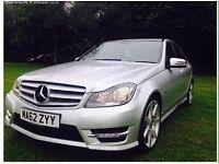 Mercedes Benz C Class 2.1 C200 Blue efficiency Sport 7G Tronic FSH