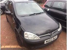 Vauxall Coras SXI 2002