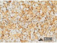 Sienna 3-8mm Gravel/chips roughcast, from the Renaissance Range
