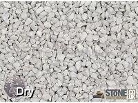 Limestone buff decorative 20mm decorative in bulk bags