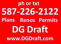 Drafting for Building Permits / Development Permits / Rezoning