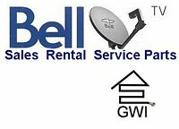 BELL SATELLITE TV SERVICE,RENTAL & INSTALLATION 204 223 3041