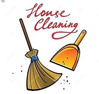 Last minute house cleaner for final clean