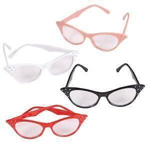 b6cf95fa56f Vintage 50s Cat Eye Glasses