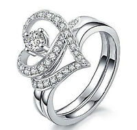 NEW Beautiful white gold rings available in different sizes