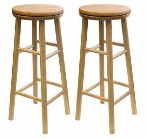 Winsome Wood 30-Inch Swivel Seat Barstool with Natural Finish, S Cambridge Kitchener Area image 1