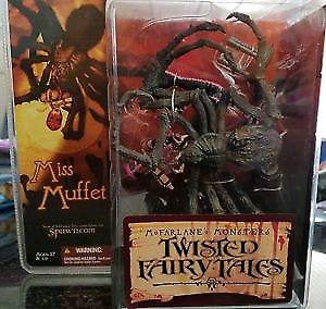 Horror action figures Mcfarlane twisted fairy tales