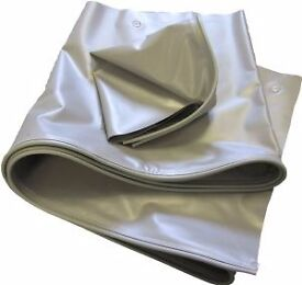 NEW 4m length (50cm / 20 inch drop) Awning / Draught Skirt PLUS Wheel Arch Cover