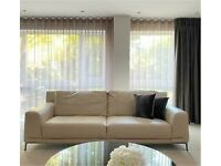 2 x 3 seater Iconica Sofa DFS 6 months old real 100% leather