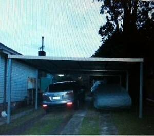 new  carport  flat roof  6  x  6  $1750 Thomastown Whittlesea Area Preview