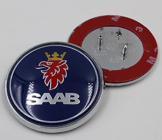 NEW Saab 9-5 9-3 Front Hood Bonnet Emblem Badge Symbol Logo 68MM 2.625