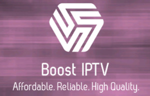 5 Star Reviews - Best IPTV Box and Subscription- Boost IPTV