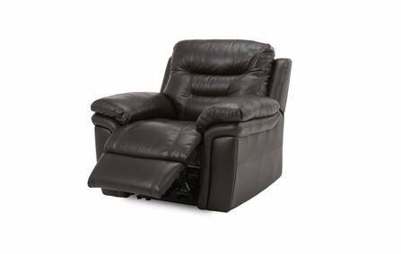 Very comfortable Leather and leather look Electric Recliner from DFS