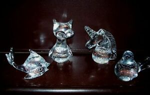 Vintage Animal Crystal Glass Figures Collectible Collection London Ontario image 3