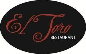 El Toro restaurant is looking for a food and beverage manager