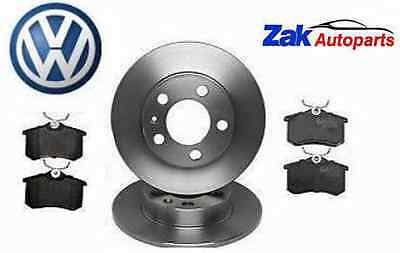 VW Golf MK4 (1998-2004) Rear Brake Discs And Brake Pads Set **Brand New**