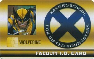 Heroclix Wolverine Faculty ID Card