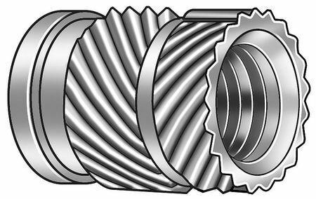 Zoro Select 1Gua2 Ultrasonic Insert,3/8-24,Straight,Pk25