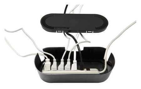 D-LINE -  US/CTUSMLB/SW/GR Cable Tidy Unit,Black,ABS