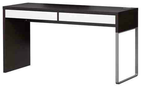 Micke Ikea Long Narrow Desk With Two Drawers Reduced