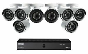 Lorex by 8 Channel 1TB HD Cameras with Internet Access