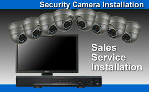Security Camera System HD 1080/720p IP*3/4/5mp Pro-Installation*
