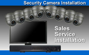 (HD) IP Camera Security System1080/720p3/4/5mp Pro-Installation*